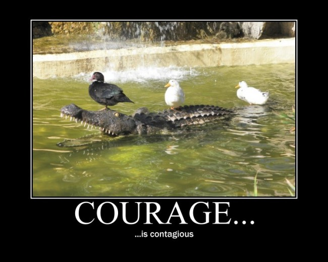 Courage_is_contagious