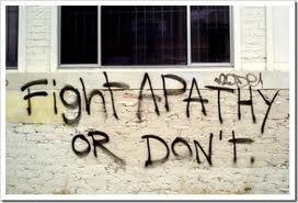 Fight apathy