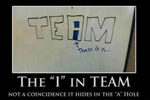 funny-theres-no-i-in-team